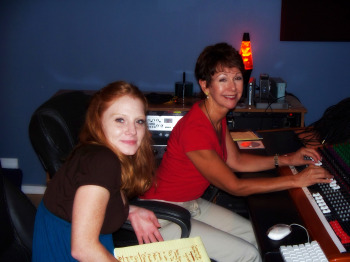 Harmony interviewing Lynnette Wadsworth