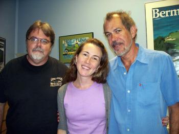 Jim, Krysta and Rob