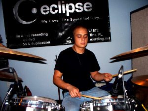 Bobby Turner Jr. on Drums at Eclipse