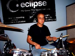 Bobby Turner Jr. on Drums at Eclipse