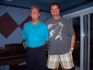 Eli Grimes and Kurt Johnston
