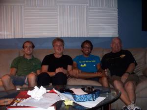 Dan Bagan and Yitrinity Group at Eclipse Recording Company