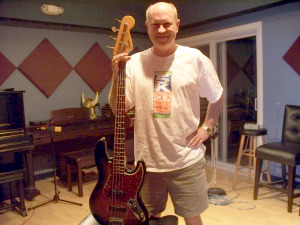 Bernie Powers at Eclipse Recording Company