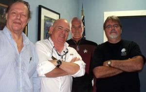Francis, Dan Bagan, Dr. Spock and Jim Stafford at Eclipse Recording Company!