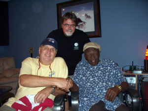 Rick Ambrose, Jim Stafford and Willie Green at Eclipse Recording Company