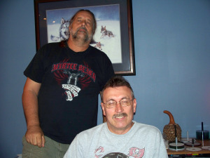 Dave Besley and Ray Kayanek at Eclipse Recording Company