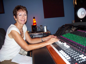 Lynette Wadsworth at Eclipse Recording Company