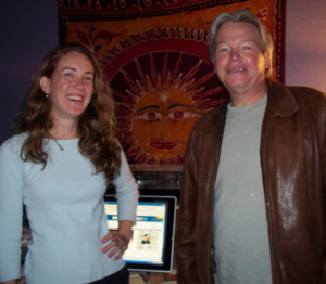 Krysta Brown and David Pooler at Eclipse Recording Company