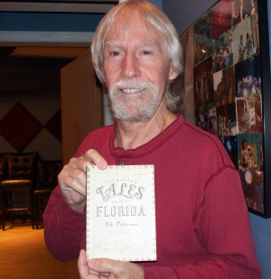 "Bob Patterson and his book ""Forgotten tales of Florida"" at Eclipse Recording Company!"