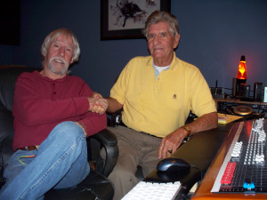 Bob Patterson and Eddie Trester at Eclipse Recording Company!