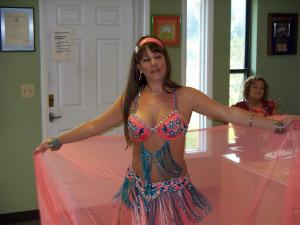 Middle Eastern Dance Instructor Jean Courtrer