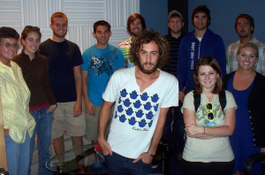Dr. Tracy Halcomb's Flagler Class at Eclipse Recording Company