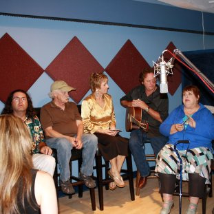 Spanky and our gang interview at Eclipse Recording