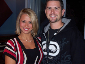 Chelsea Willbach and Jean-Paul Cottave at Eclipse Recording Company