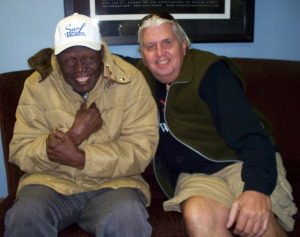 Willie Green and Rick Ambrose at Eclipse Recording Company