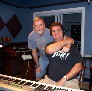 Wayne and Kurt Johnston at Eclipse Recording Company
