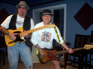 "za and Bernie ""Son"" Powers at Eclipse Recording Company"