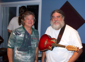 Jim Lamb and Eddie Pickett at Eclipse Recording Company