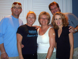 Frankie Urezetta, Keyn Schilling, Sharon Hawes, Kurt Johnstonl at Eclipse Recording Company