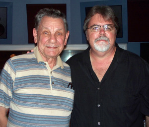Russell and Jim Stafford at Eclipse Recording Company