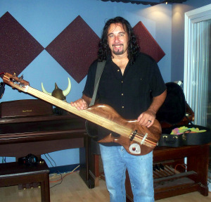 Ace Ray, bass guitar
