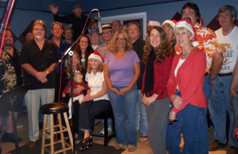 Contributors to the 2009 Christmas Charity CD