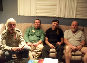 Gamble Rogers director meeting at Eclipse Recording Company