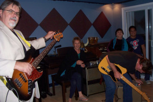 Spanky and our gang at Eclipse Recording Company