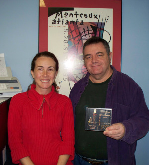 Krysta Brown and Mike Hart at Eclipse Recording Company