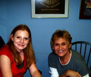 Harmony Cornett and Sharon Mull at Eclipse Recording Company