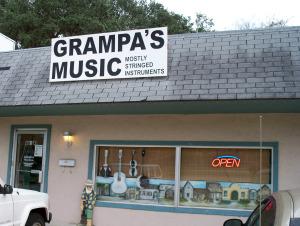 Grampa's Music in St. Augustine
