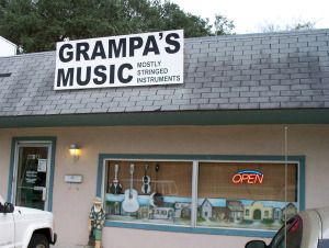 Grampa's Music in St. Augustine