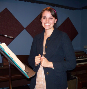 Sarah Fogle at Eclipse Recording Company