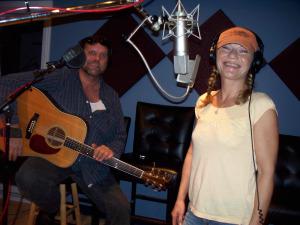 Mickey Cash and Dewey Via at Eclipse Recording Company