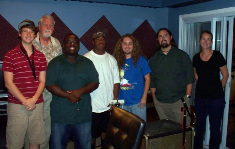 The St. Augustine High School Jazz Band at Eclipse Recording Company