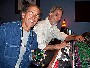 Steve Mitherz and Bert Hodge at Eclipse Recording Company
