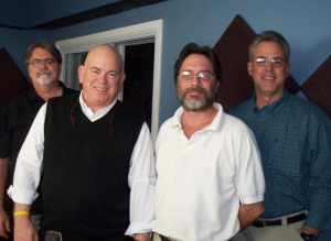 Jim, Dan, Chris and Matt at Eclipse Recording Company