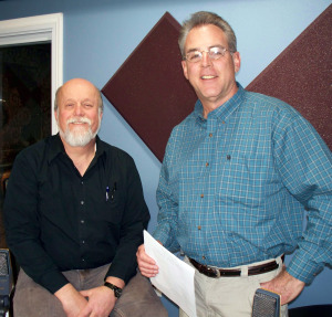 Paul Linser and Matt Jeffs at Eclipse Recording Company