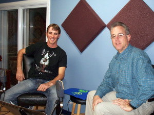 Adam Morley and Matt Jeffs at Eclipse Recording Company