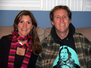 Lizzie and Mark Hastings at Eclipse Recording Company