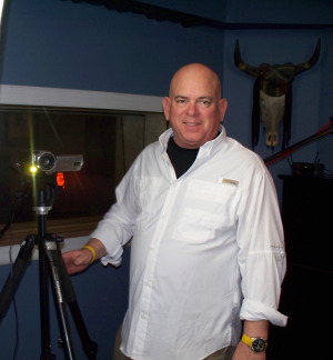 Dan Bagan filming at Eclipse Recording Company