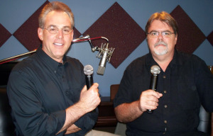 Matt Jeffs and Jim Stafford at Eclipse Recording Company