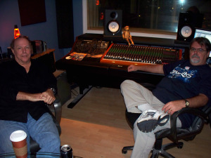 Francis and Jim Stafford at Eclipse Recording Company
