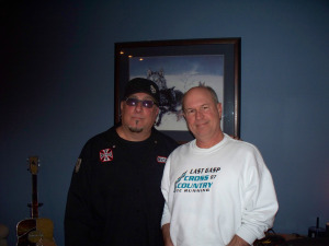 Bernie Son Powers and Rob Piazza at Eclipse Recording Company