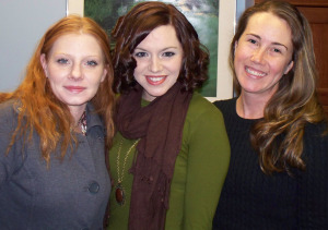 Harmony Cornett, Sonata McFarlane, Krysta Brown at Eclipse Recording Company