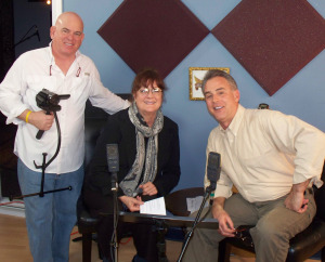 Melissa Stuart and Matt Jeffs at Eclipse Recording Company