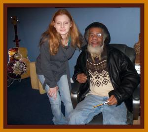 Harmony Cornett and Rege Lark at Eclipse Recording Company