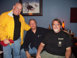 Dan Bagan Francis and Jim Stafford at Eclipse Recording Company