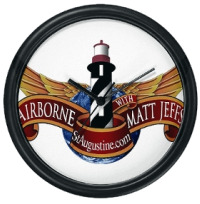 Airborne with matt Jeffs Live Wall Clock for Sale now at Eclipse Recording Company