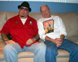 Son Powers and Rob Piazza at Eclipse Recording Company